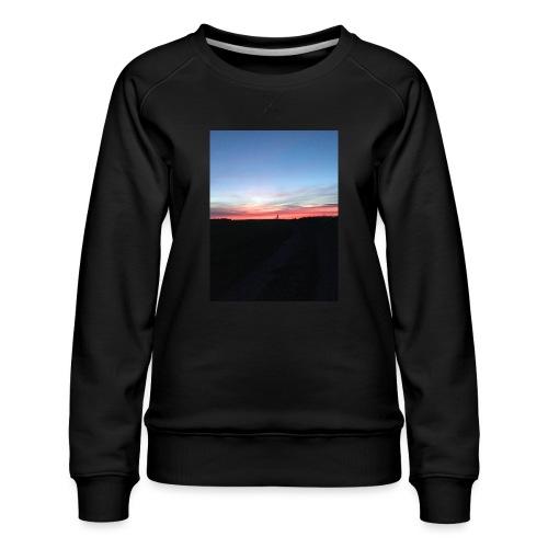 late night cycle - Women's Premium Sweatshirt