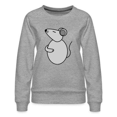 Rat - just Cool - c - Frauen Premium Pullover