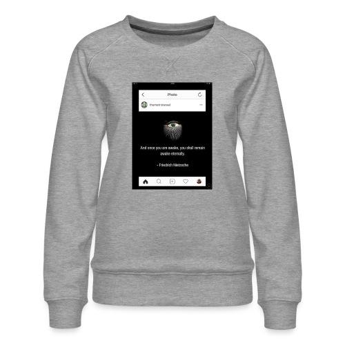 81F94047 B66E 4D6C 81E0 34B662128780 - Women's Premium Sweatshirt