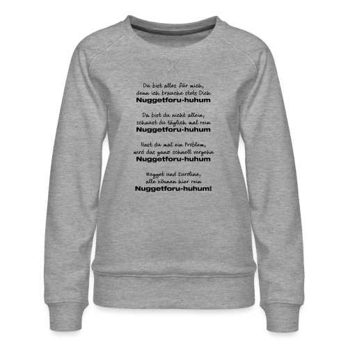 Du bist alles für mich - Frauen Premium Pullover