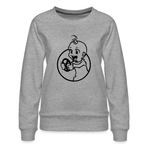 Der kleine Rennfahrer - Frauen Premium Pullover