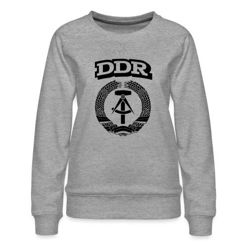 DDR T-paita - Naisten premium-collegepaita