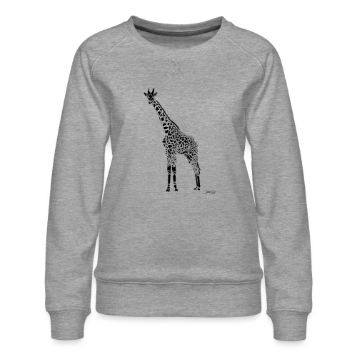 Black Girafe By Joaquín - Sweat ras-du-cou Premium Femme