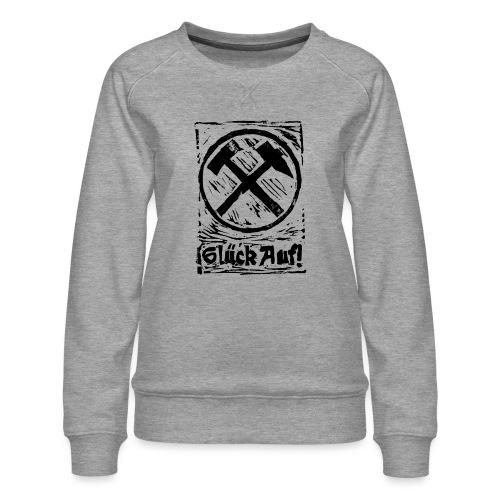 GlueckAuf - Frauen Premium Pullover