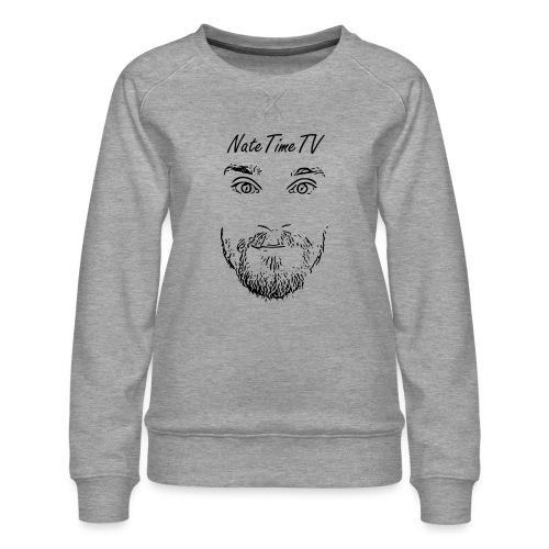 nttvfacelogo2 cheaper - Women's Premium Sweatshirt