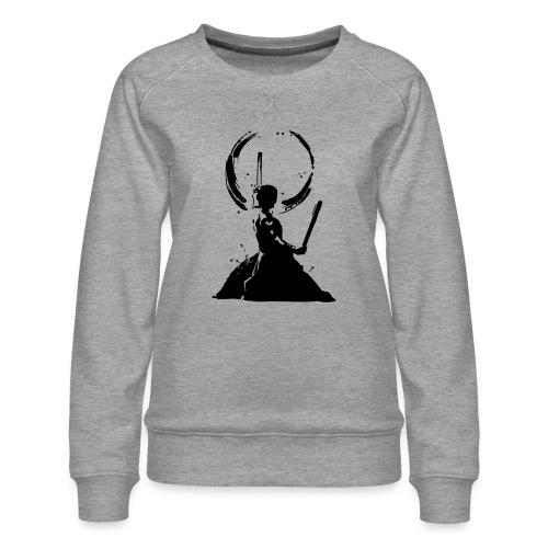 Odaiko Trommler - Frauen Premium Pullover
