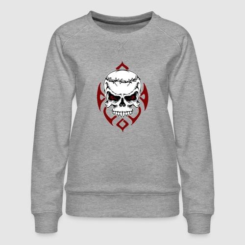 Totenkopf - Frauen Premium Pullover