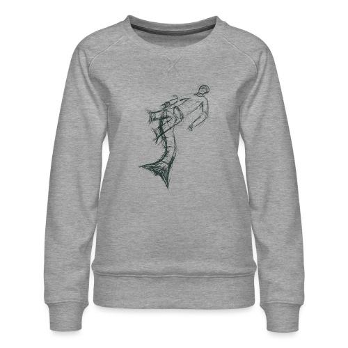 Aquarius - Women's Premium Sweatshirt