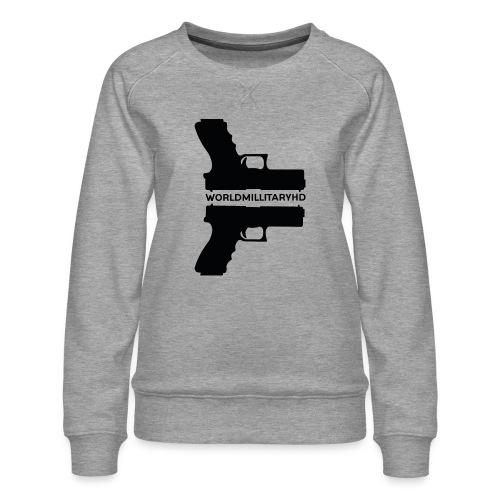 WorldMilitaryHD Glock design (black) - Vrouwen premium sweater