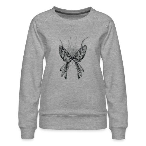 Nachtfalter - Frauen Premium Pullover