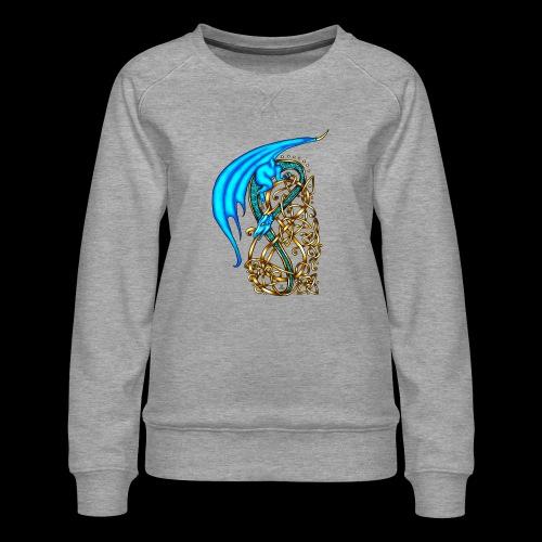 Celtic Dragon - Women's Premium Sweatshirt