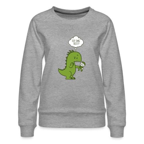 Bio-Dinosaurier - Frauen Premium Pullover
