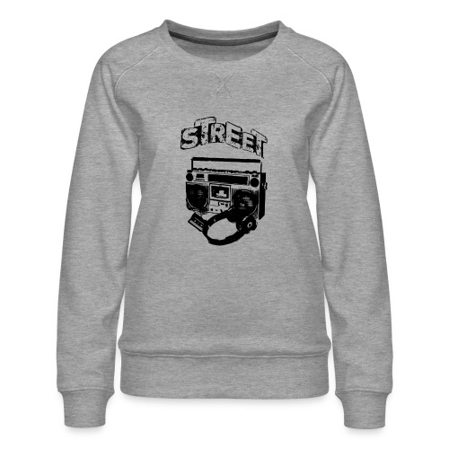 street 1 - Dame premium sweatshirt