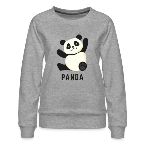 Schattige Panda - Vrouwen premium sweater