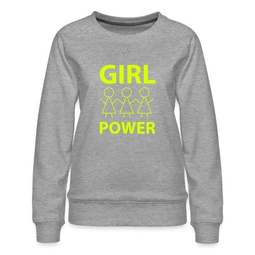 18 - Girl Power 001 - Dame premium sweatshirt