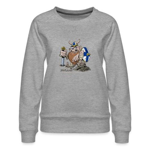 FINLAND VIKING T-paidat, tekstiilit ja lahjaideat - Naisten premium-collegepaita