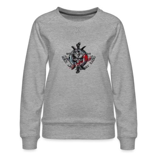 Blood Skull Logo - Premiumtröja dam