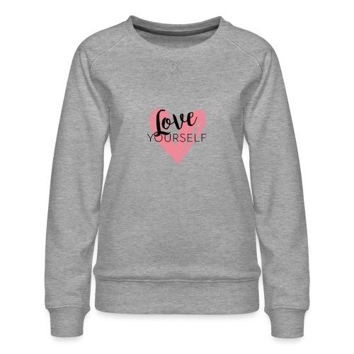 Love Yourself Pascal Voggenhuber - Frauen Premium Pullover
