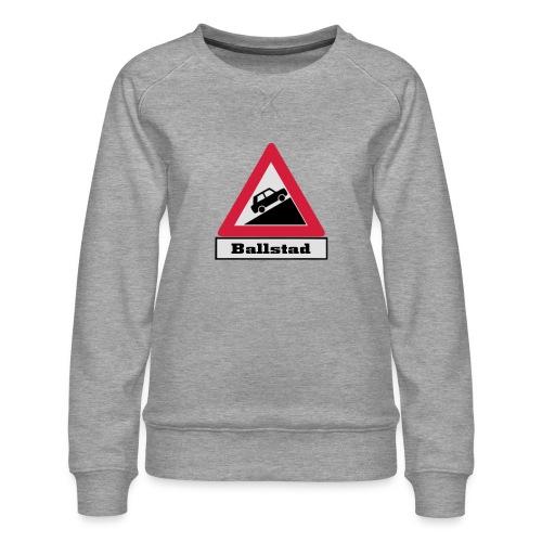 brattv ballstad a png - Premium-genser for kvinner