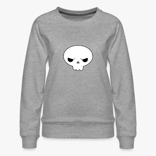 Skullie - Dame premium sweatshirt