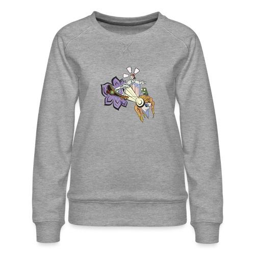 Spring Doodle - Vrouwen premium sweater