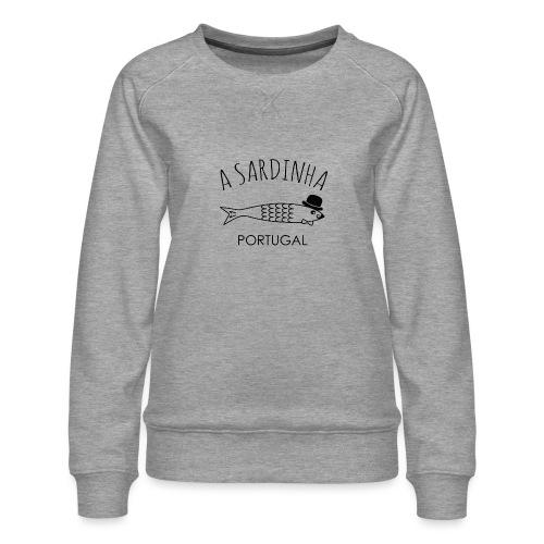 A Sardinha - Portugal - Sweat ras-du-cou Premium Femme