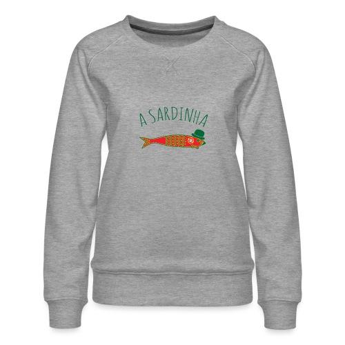 A Sardinha - Bandeira - Sweat ras-du-cou Premium Femme