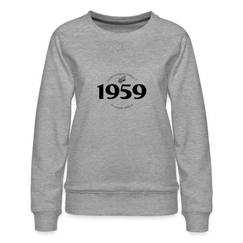 MVW 1959 sw - Frauen Premium Pullover