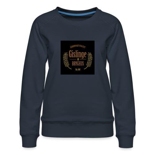 Sort logo 2017 - Dame premium sweatshirt