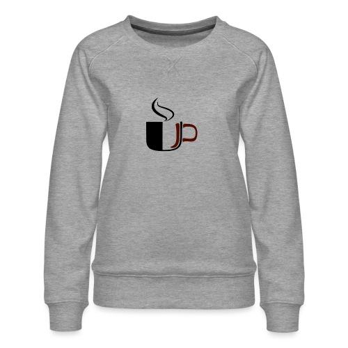 JU Kahvikuppi logo - Naisten premium-collegepaita