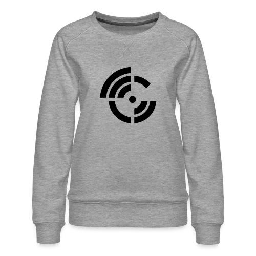 electroradio.fm logo - Women's Premium Sweatshirt