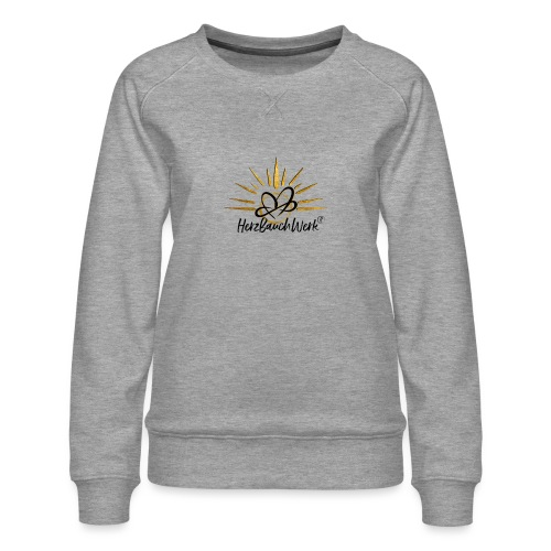 HerzBauchWerk Gold - Frauen Premium Pullover