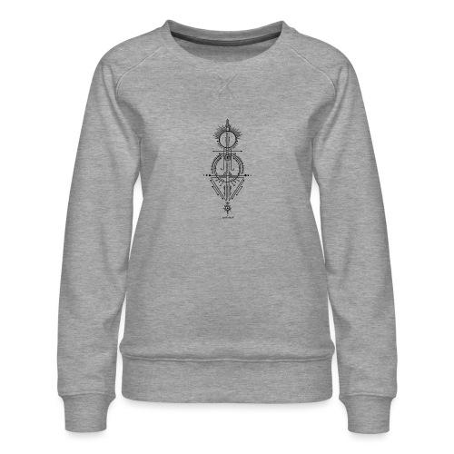 KraftSymbol zur 8.Rauhnacht - Frauen Premium Pullover