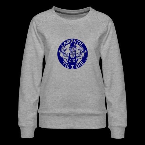 LAMBETH - NAVY BLUE - Women's Premium Sweatshirt