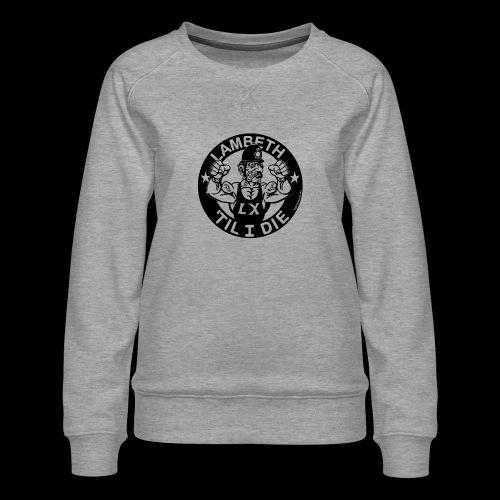 LAMBETH - BLACK - Women's Premium Sweatshirt