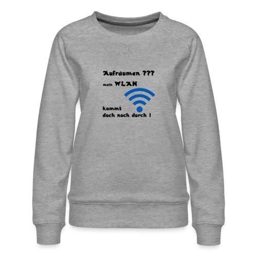 Wlan SW - Frauen Premium Pullover