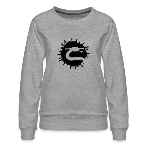 Dragemester_Sort - Dame premium sweatshirt