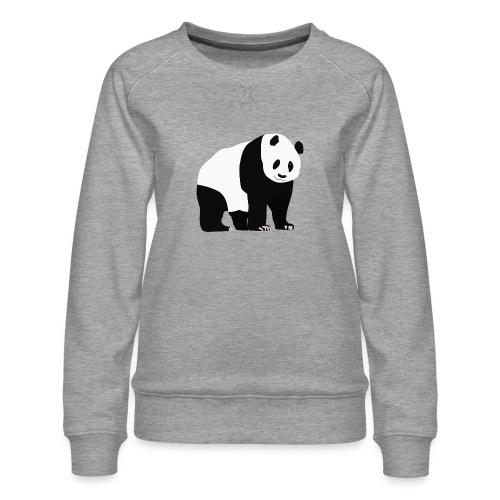 Panda - Naisten premium-collegepaita