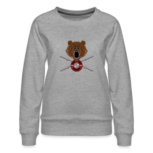 Bear Fury Crossfit - Sweat ras-du-cou Premium Femme