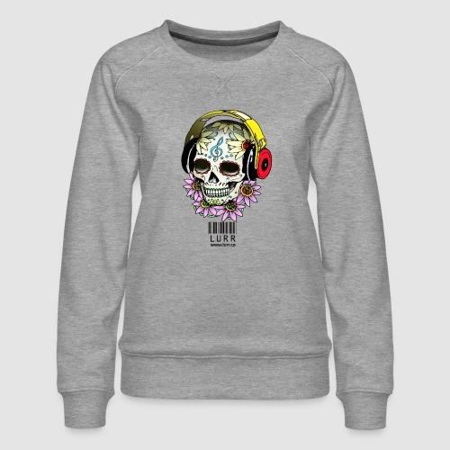 smiling_skull - Women's Premium Sweatshirt
