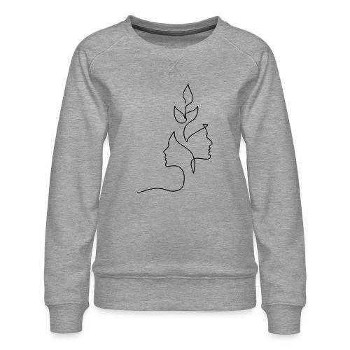 Tanker - Dame premium sweatshirt