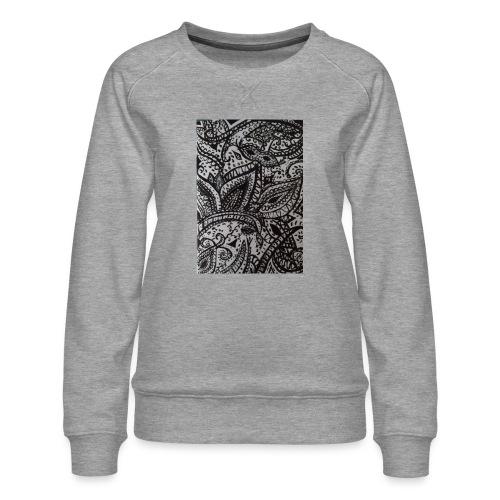 henna - Women's Premium Sweatshirt