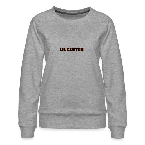 lil gutter sim - Dame premium sweatshirt
