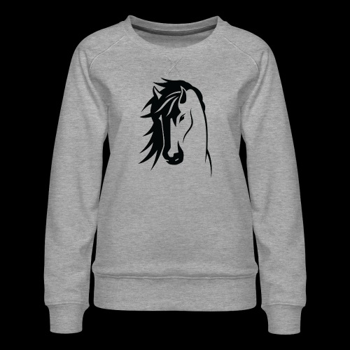 Stallion - Women's Premium Sweatshirt