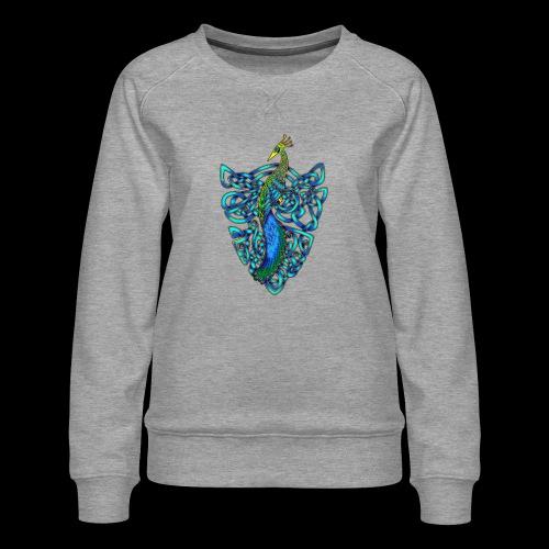 Peacock - Women's Premium Sweatshirt