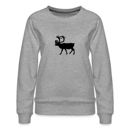 Le Caribou - Sweat ras-du-cou Premium Femme
