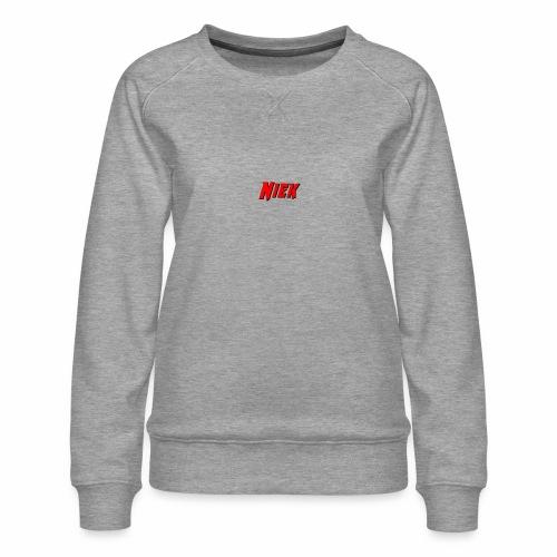 Niek Red - Vrouwen premium sweater