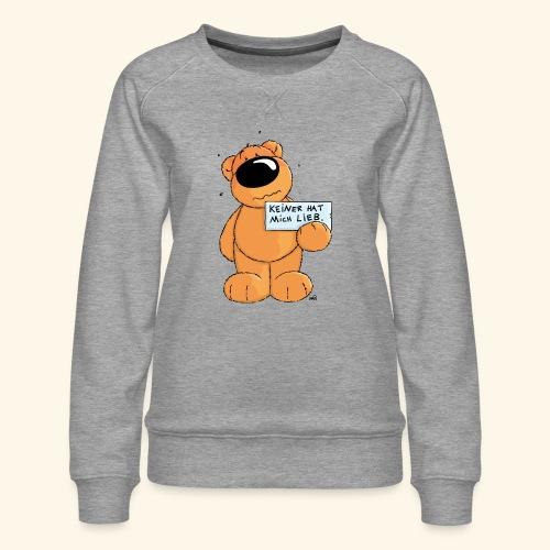 chris bears Keiner hat mich lieb - Frauen Premium Pullover
