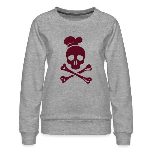 cannibal cook vector - Frauen Premium Pullover