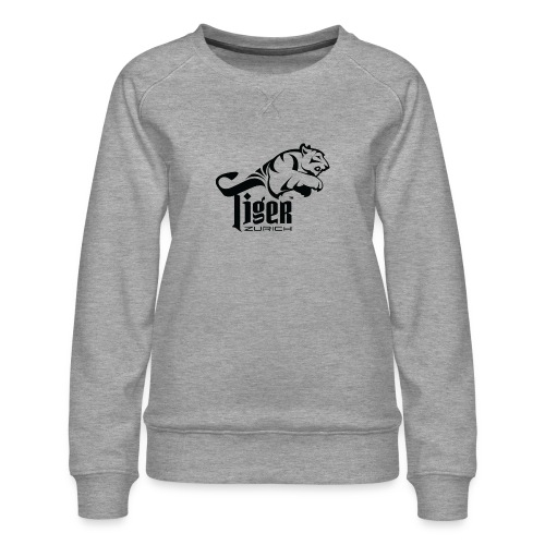 TIGER ZURICH digitaltransfer - Frauen Premium Pullover